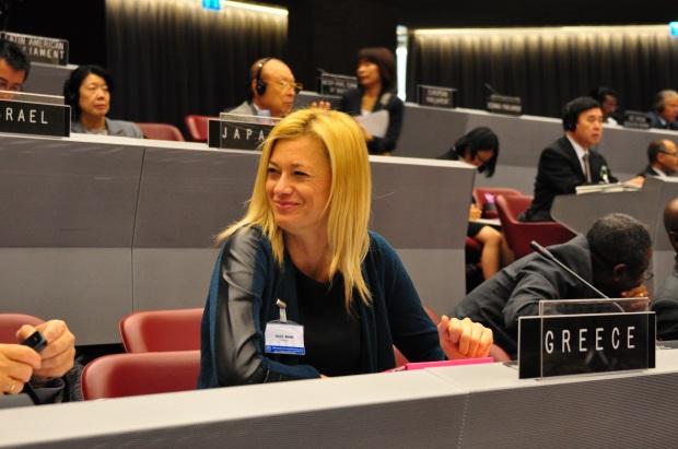 Genève le 07.10.2013, CICG, 129ème Assemblée de l'Union interparlementaire et réunion connexes, Conseil directeur, Assemblée © UIP/Giancarlo Fortunato