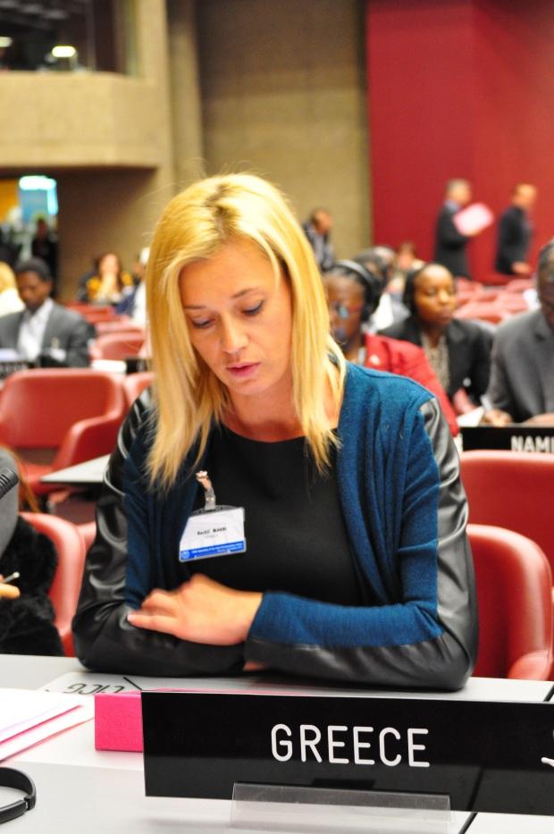 Genève le 07.10.2013, CICG, 129ème assemblée de l'union interparlementaire et réunion connexes, Réunion-débat © UIP/Giancarlo Fortunato