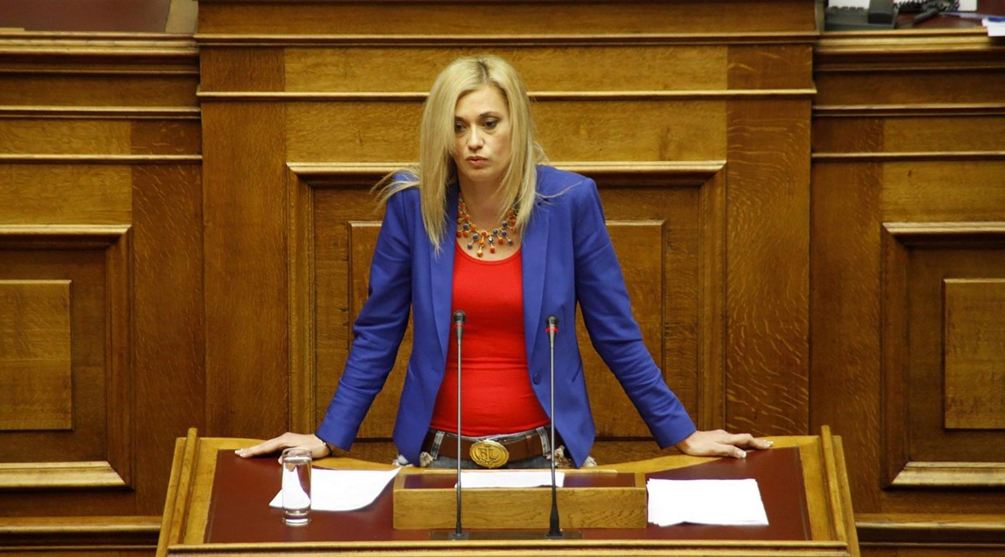 Ραχήλ Μακρή: «Θέλουν να πετύχουν τον αφανισμό του ελληνισμού» | 14.10.2017