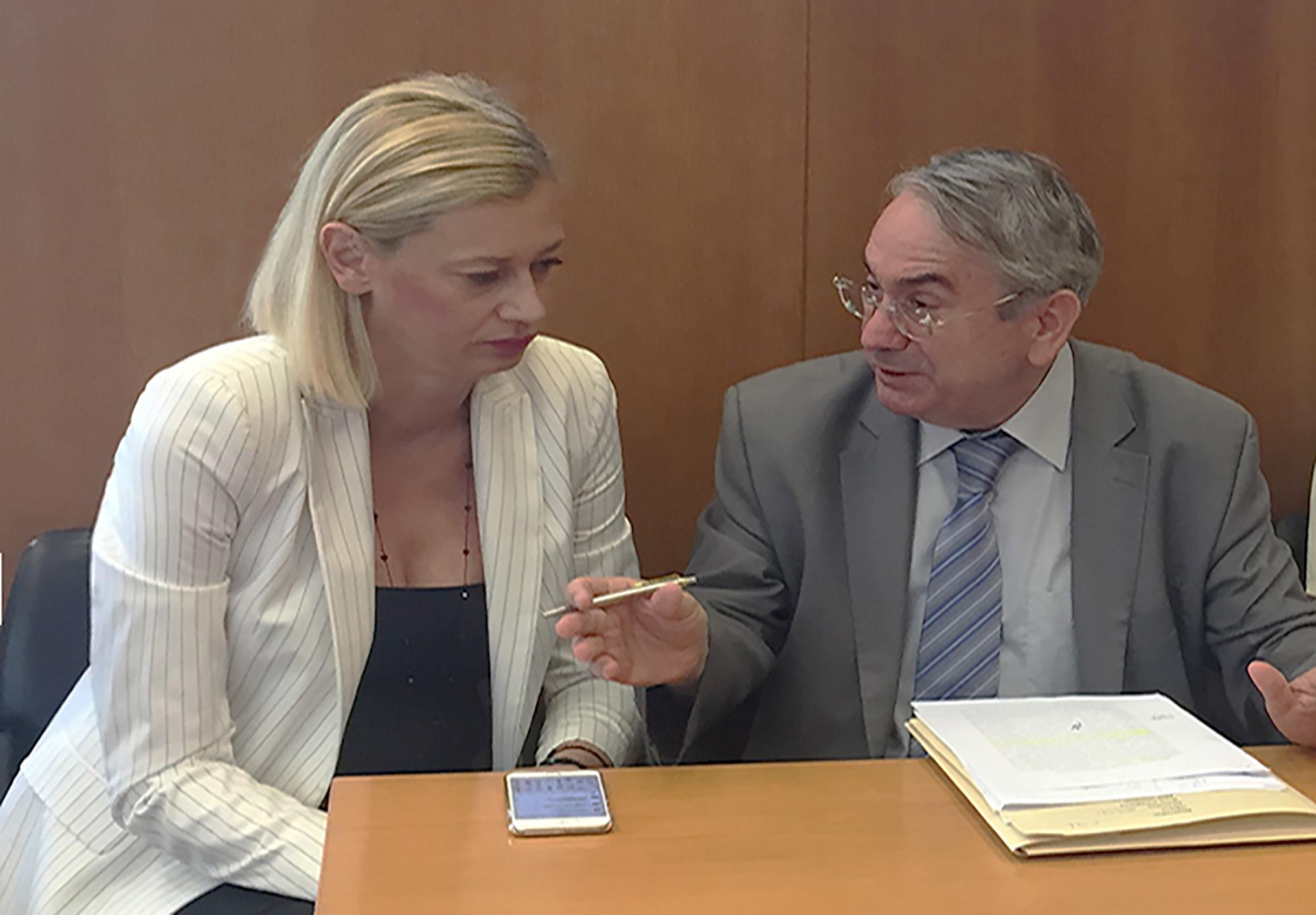Ι. Σακκάς και Ρ. Μακρή, συμπορεύονται για την ανάληψη πρωτοβουλιών για τις πλημμύρες στην Μάνδρα