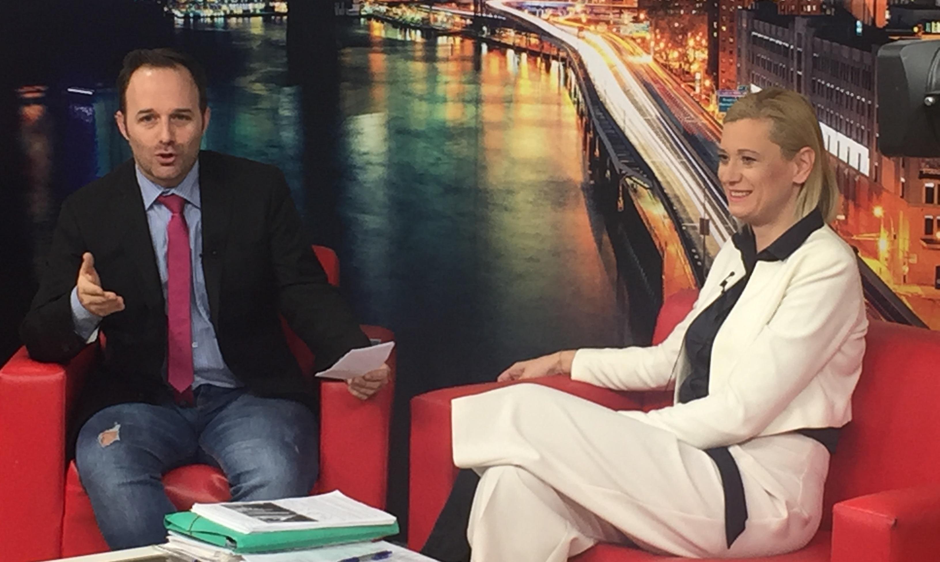 Συνέντευξη της Ραχήλ Μακρή στην εκπομπή «Μαρτυρίες» με τον Λάμπρο Πάσχο και τον Μιχάλη Αγραφιώτη στο κανάλι του Αρτ | 07.12.2017