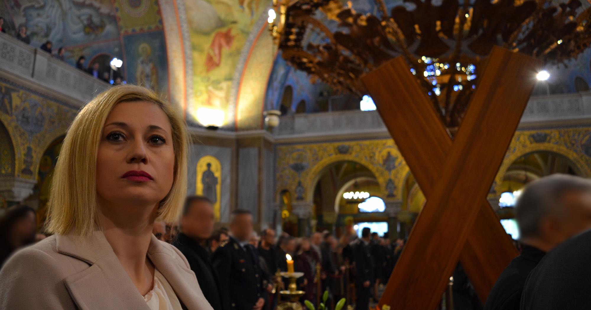 Ραχήλ Μακρή για Άγιο Ανδρέα σε Ιερώνυμο – Μητσοτάκη: Ο Θεός να σας λυπηθεί – Άγνοια Ιστορίας και Ορθοδοξίας
